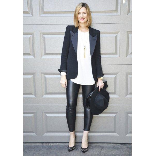 Can I wear leggings (plain black zara) as formal wear? - Quora