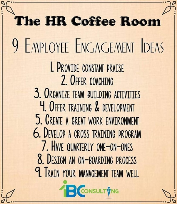 What Are The Employee Engagement Activities Quora