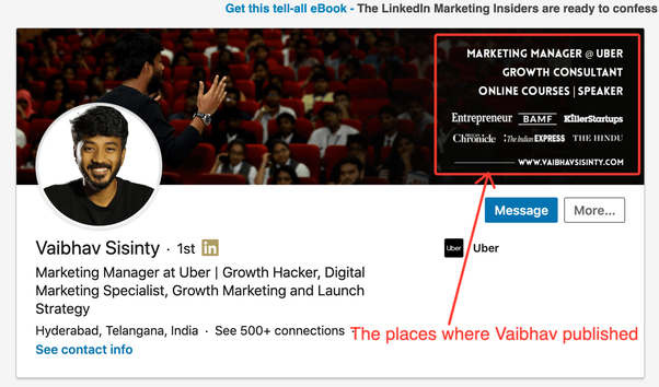 What does an outstanding LinkedIn profile look like? - Quora
