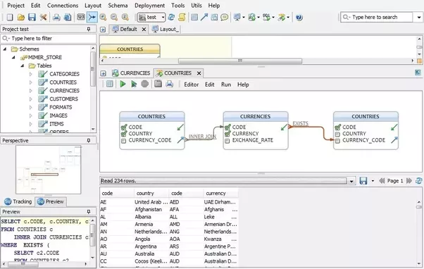 What is the sql server database designer tool quora dbschema is diagram designer and query tool ccuart Image collections