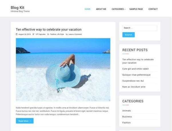 What are some websites with free WordPress themes? - Quora