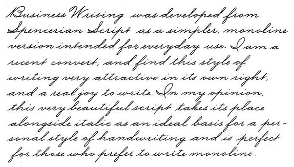 With Abroad Edged Pen You Can Change Your Handwriting Italic Cursive Script My Own Has Vastly Improved After Learning Copperplate And
