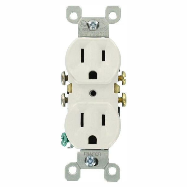 Why Do Some U S Electrical Outlets Have 2 Prongs While Others Have 3 What S The Difference Quora
