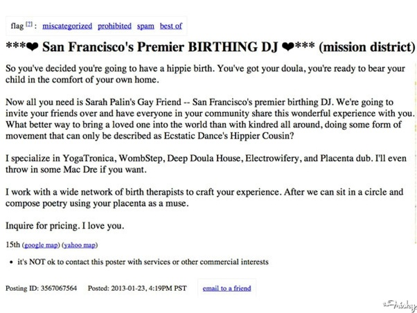 Guys who get together with chicks on Craigslist: How is that
