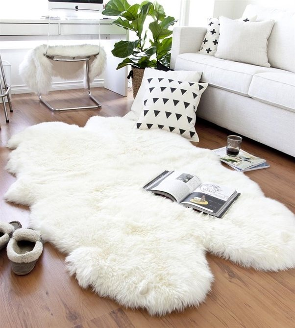 Sheepskin Rugs Can Be Taken To The Dry Cleaners But This Expensive In Any Case Nearly All Natural Un Dyed Hand Washed