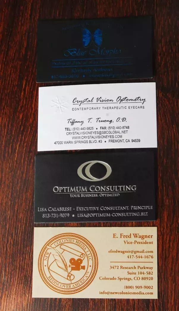 What are the most effective and beautiful examples of business cards ...
