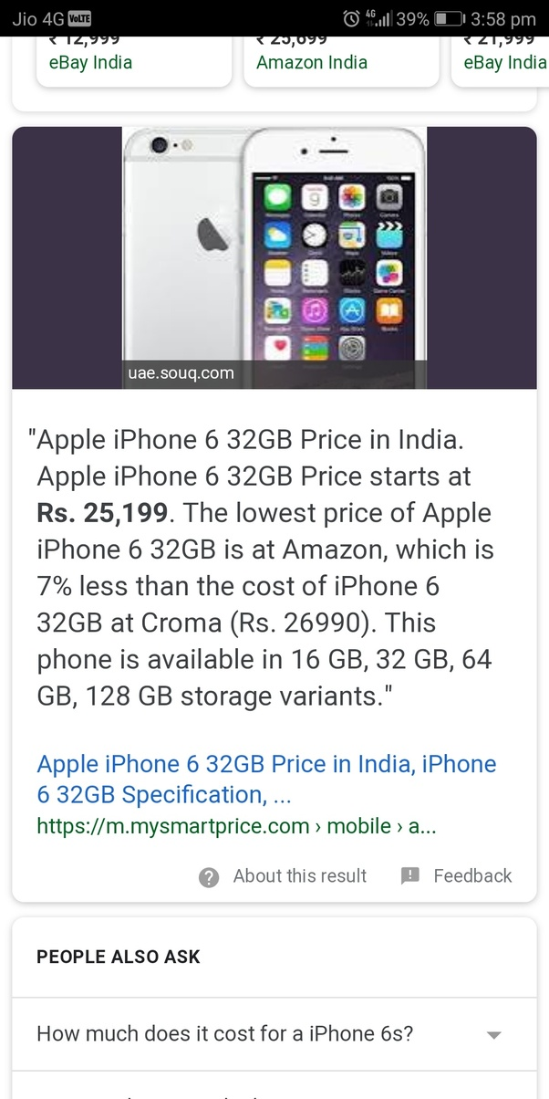 Is it worth buying an iPhone 6S in 2018? - Quora