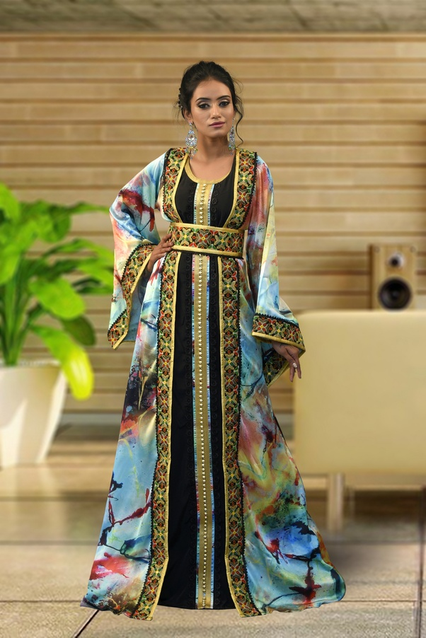 304cc00497 So, it will make any women look modest and stylish too. So, don't worry. Moroccan  Kaftan can be worn by any non-muslim with pride.