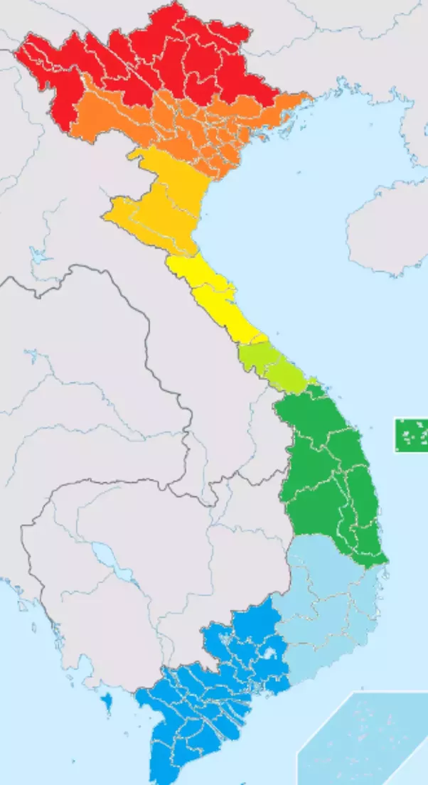 How many dialects are there in Vietnamese Are they so different