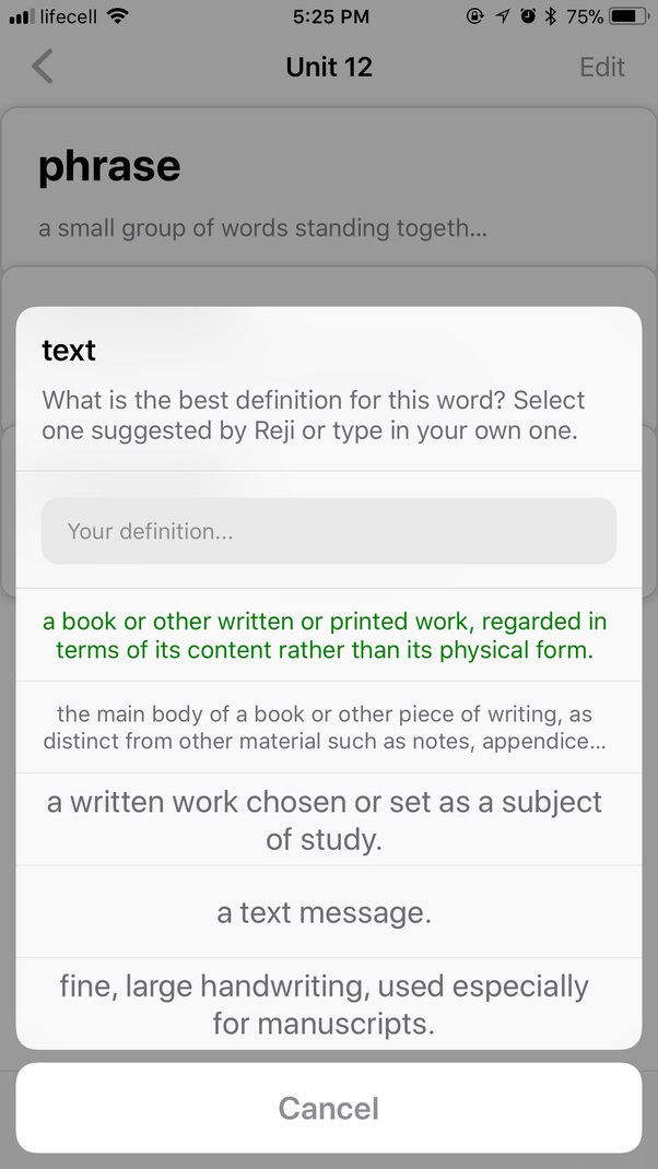 Which is the best app for learning english vocabulary quora thanks to this functionality you dont need any other apps to save the words you encounter and want to learn just create yourself a deck select what you solutioingenieria Image collections