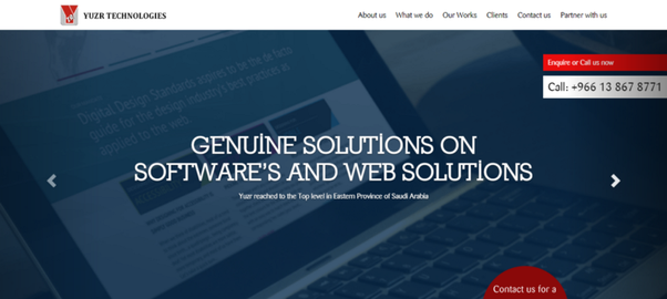 Which are the top Web design and development companies in