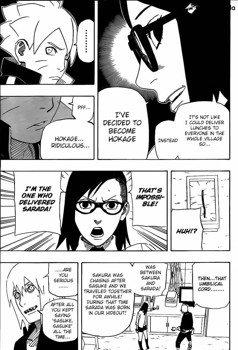 So Sarada Uchiha Isn T Actually Daughter Of Sakura And Sasuke But Of