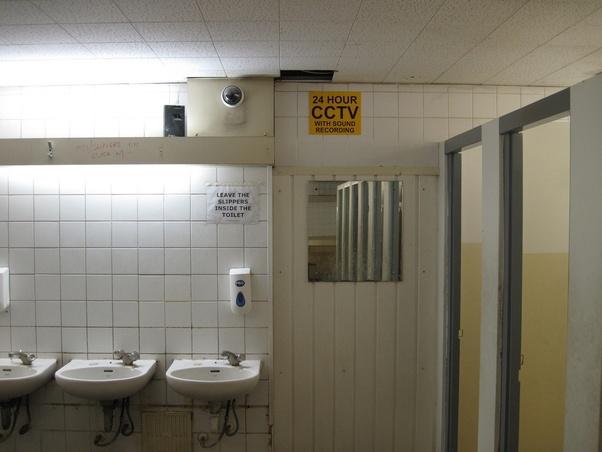 Are There Cameras In Public Bathrooms Quora