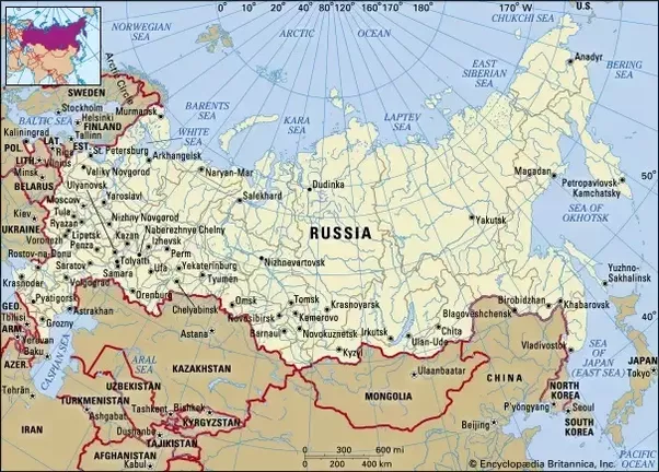 Why is Russia so huge Quora