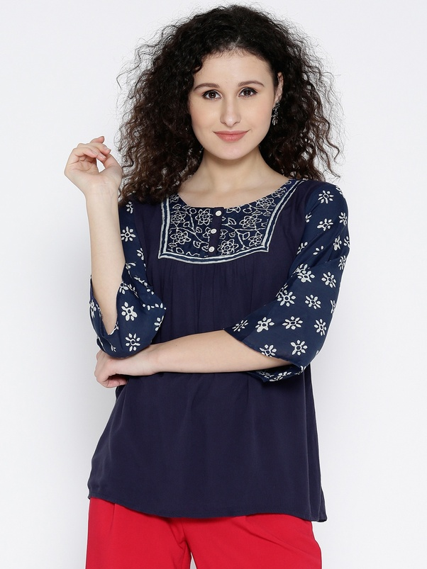 How Many Are Different Style Of Indian Suits And Kurtis For Women