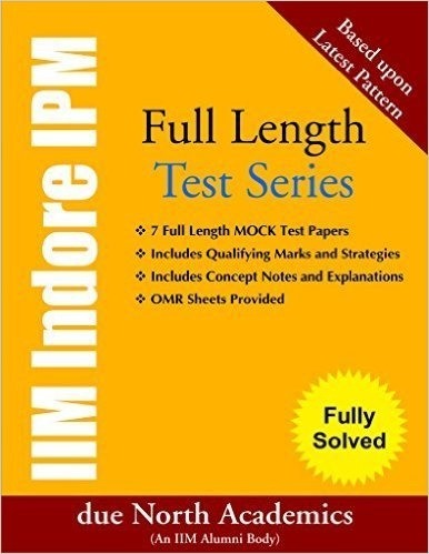 which books are recommended for cracking ipm entrance exam quora