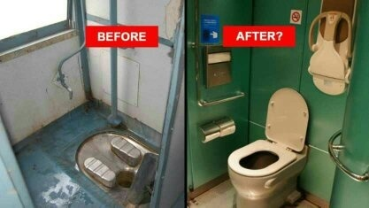 Why Do The Toilets In Indian Trains Have Their Outlets
