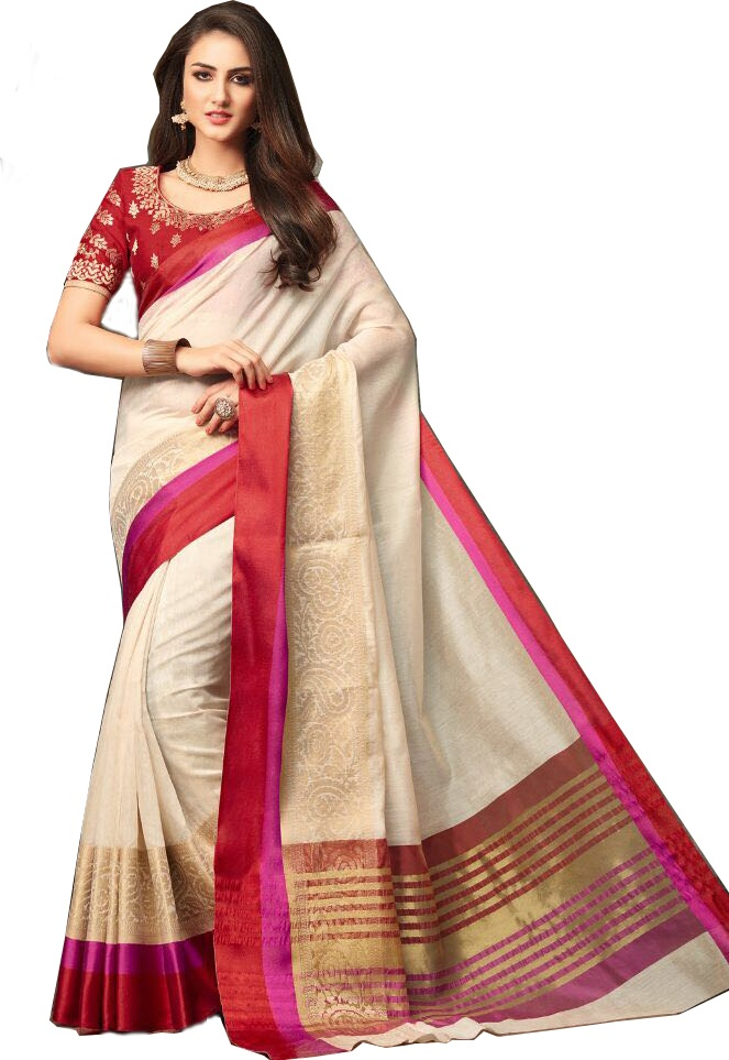 9f3463496b924 The most suitable dress for this job is saree