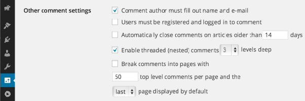 How to limit activity comment depth in BuddyPress - Quora