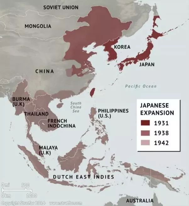 Why did japan attack the philippines world war 2 quora japanese forces were already occupying almost all of each neighboring countries korea china burma uk thailand french indochina vietnam gumiabroncs Gallery