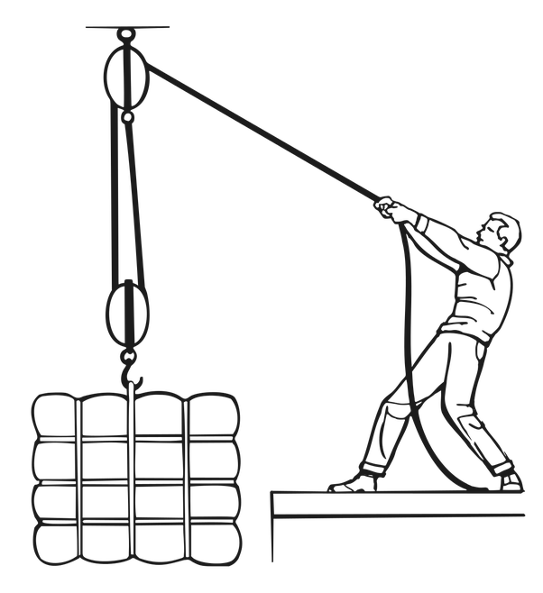 How Do Pulley Systems Work And What Are Some Examples Quora