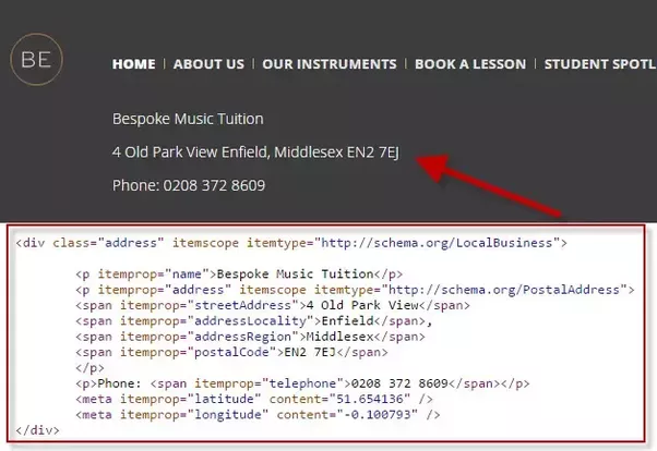 Matthew Barby has put in the hard work to craft the code you can use in  your website's schema markup. You just need to change the bold entities  below with ...