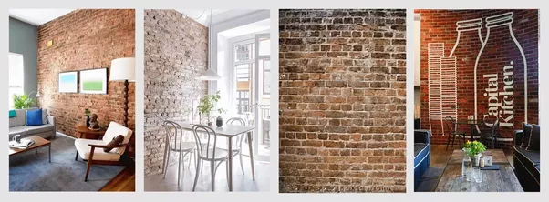 Our Thin Brick Veneers Are Only Half Inch In Thickness, Making Them Easy To  Install On Any Interior Wall.u201d