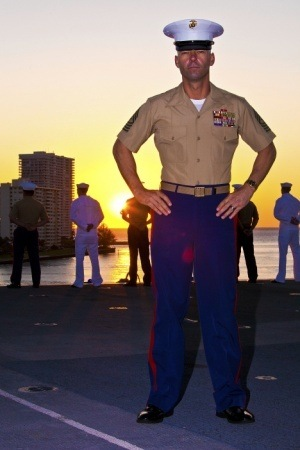 What Are Dress Blue Deltas In The United States Marine