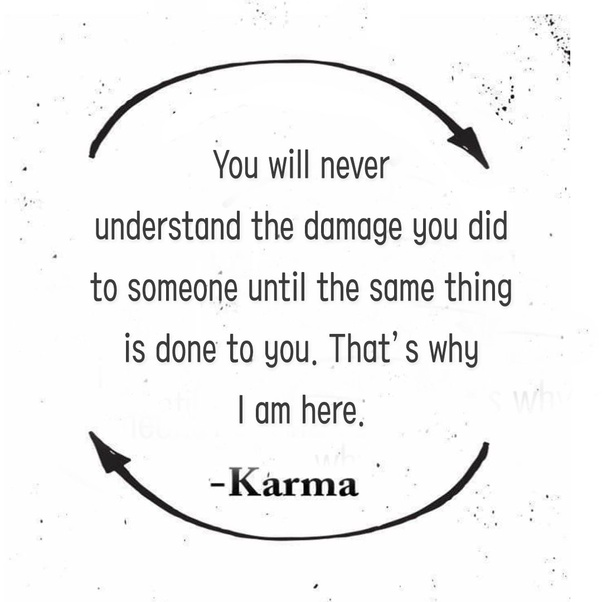 When karma gets you