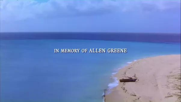 in memory of allen greene Who is Alan Greene (In Memory of) from Shawshank Redemption? - Quora