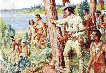 where did europeans and native americans first meet