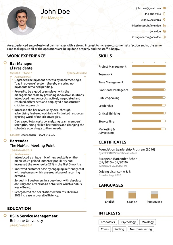 what u0026 39 s the best resume template  can anyone share his  her resume template