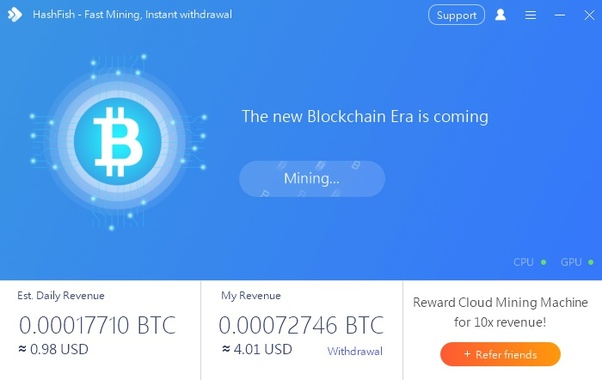 best bitcoin mining website 2021