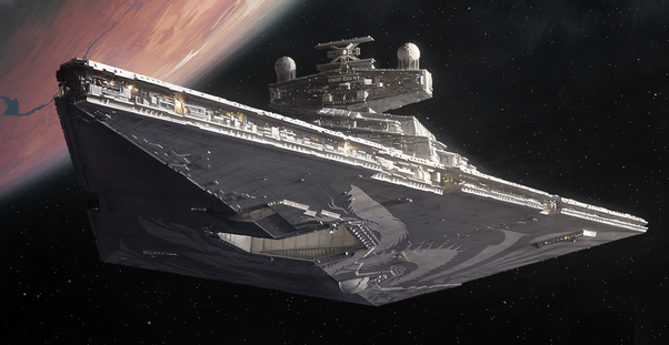 If you're going to build a Star Wars military, what ships