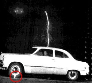 Cars Getting Hit By Lightning