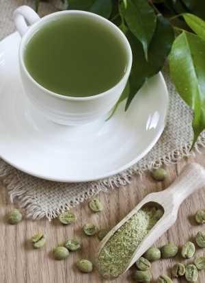 green coffee taking time