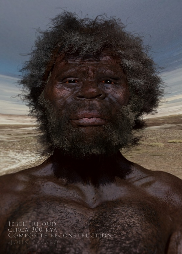 Did the first Homo Sapiens (Cro Magnon?) have more primitive