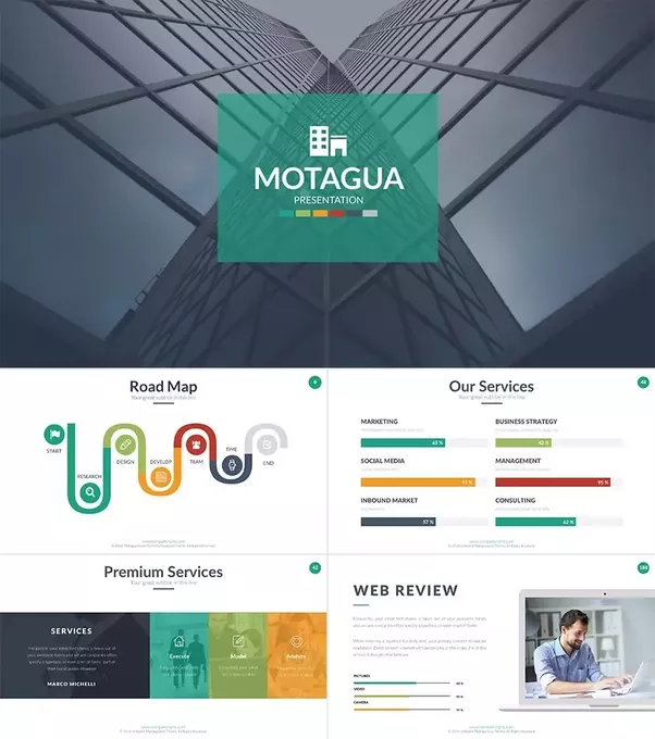 What are the best ppt templates for project presentation quora motagua is one of the best professional powerpoint templates of all times with more 13500 sales on the market cheaphphosting Choice Image