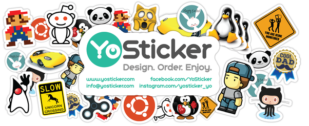 How do i buy customized stickers