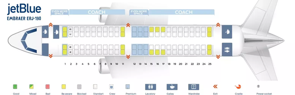 Which Letter Seat Will I Be Able To See Outside On Jetblue