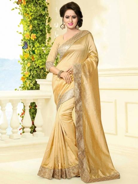 04f5b6396db87 Does the golden colour blouse suit a gold and orange colour border ...