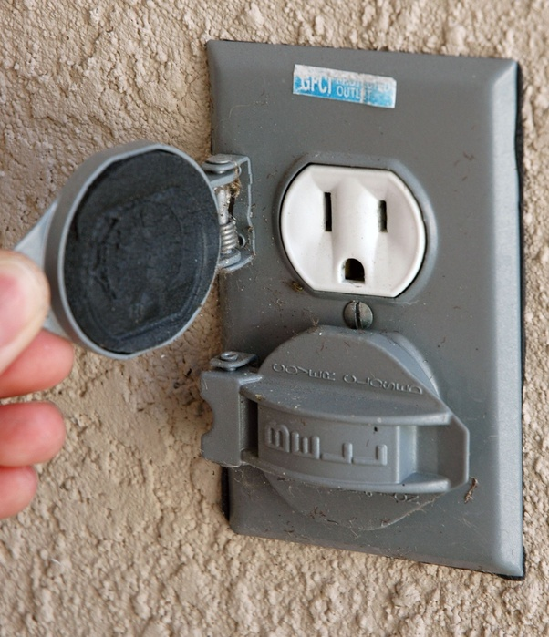 Where Can You Find Wall Outlets Outside