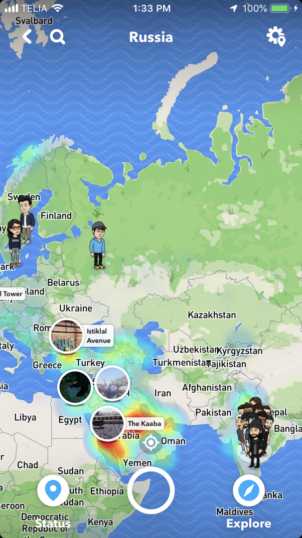 How to change my location on the Snapchat map - Quora