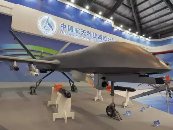 China Has Started Commercial Production Of Its CH 5 Rainbow Drone Touted To Be A Rival The US Unmanned Aerial Vehicle MQ 9 Reaper Which Could Attack