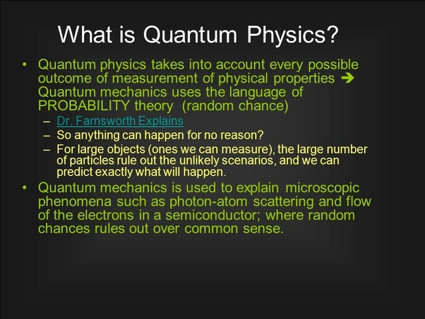 What is quantum mechanics? - Quora