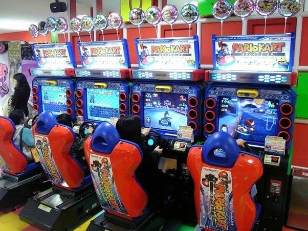 what version of mario kart is on an arcade machine quora