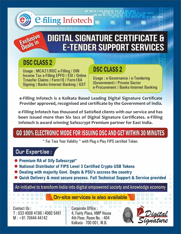 What Is The Cheapest Digital Signature Certificate Issuing Authority