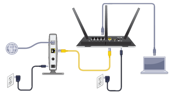 how to i connect a router to wifi