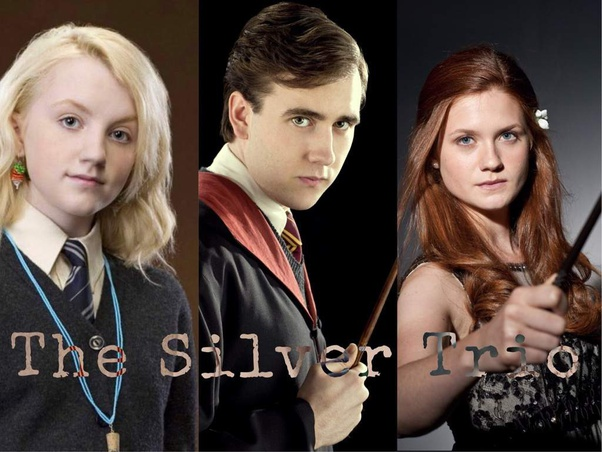Who are the 'silver trio' from Harry Potter? - Quora