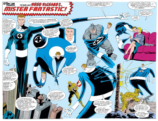 Mr Fantastic S Powers Are So Lame Is There Anything Cool About